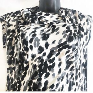🦋 Focus 2000 Animal Print Dress